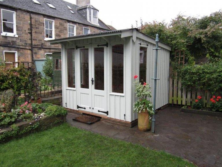 National Trust Flatford Summerhouse in Disraeli Green -