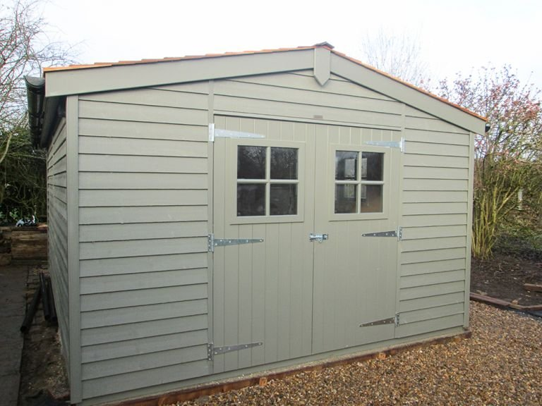 3.6 x 4.8m Superior Shed